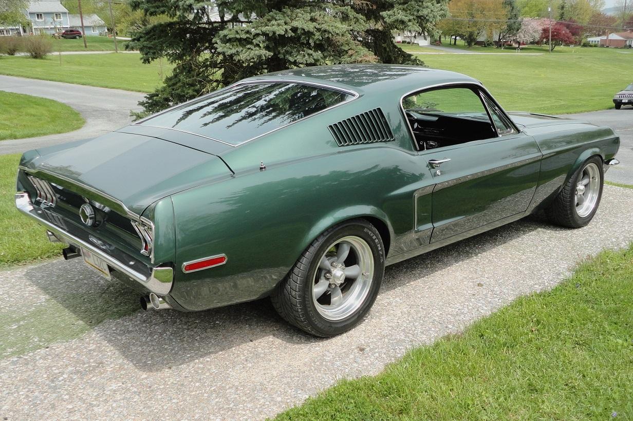 Mustang Club Of America >> '68 Bullitt Mustang
